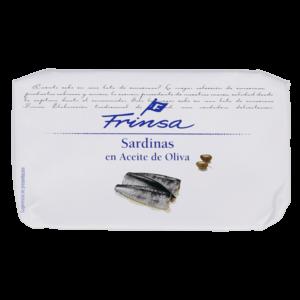 Lata de sardinas en aceite de oliva Frinsa